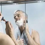 Idealne oświetlenie do golenia