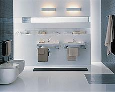 Oświetlenie decyduje o charakterze łazienki