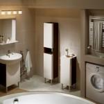 Tradycyjny drabinkowy grzejnik łazienkowy