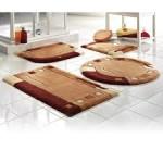Miękkie dywaniki łazienkowe