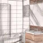 Szkic łazienki