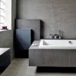 Łazienka w surowym stylu