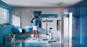 Sportowa łazienka