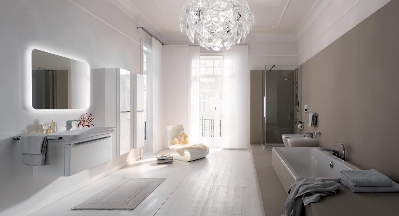 Płytki to nie jedyny pomysł na ściany w łazience