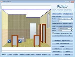 Moja Łazienka - aplikacja Sanitec Koło