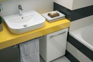 Umywalka w blacie - efektowna i praktyczna
