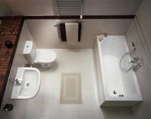 Jasne kolory optycznie powiększą łazienkę