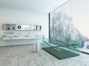 szkłane panele