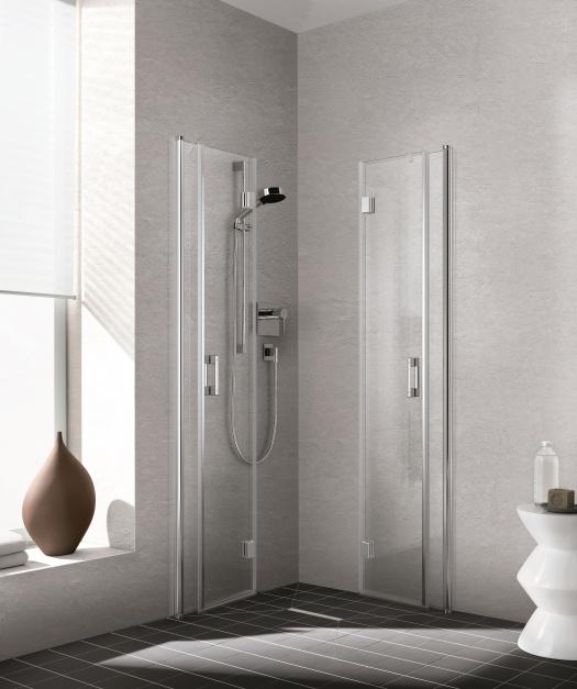 W Małej łazience Składane Kabiny Prysznicowe